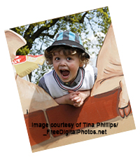 picture of boy shouting